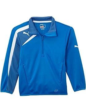 Puma Jacke Spirit Half Zip Training Jacket - Cortaviento, color azul/amarillo / azul marino, talla 8 años (128...