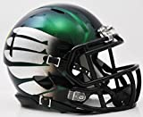 Oregon Ducks Speed Mini Helmet - Titanium Thunder Green by Riddell
