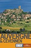 DuMont Reise-Taschenbücher, Auvergne & Cevennen - Gabriele Kalmbach, Hans E. Latzke