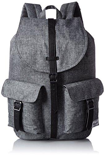 Herschel Supply Company SS16 Casual Daypack, 23.5 Liters, Raven Crosshatch/Black