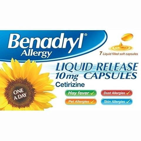 Benadryl Liquid Release Capsules 10mg Capsules 7