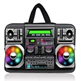 Best Laptop Sleeves - Colorful tape Recorder 15