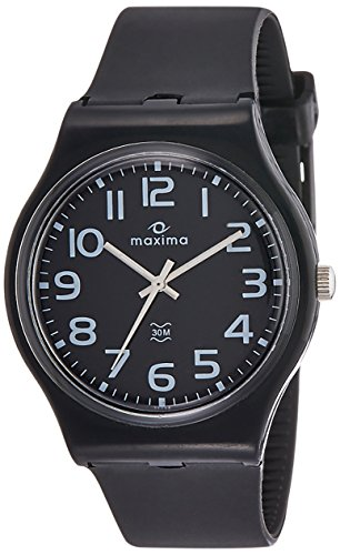 Maxima Analog Black Dial Men's Watch-39068PPGW image