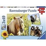 """Ravensburger Puzzle 08011 - """"Liebe Pferde"""" Kinderpuzzle"""
