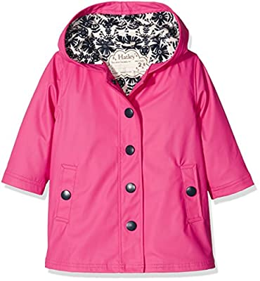 Hatley Girl's Splash Jacket-Pretty Pink Raincoat