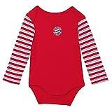 FC Bayern München 20264 Baby Body Stripes langarm Gr.50/56