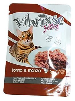 Croci Vibrisse Sachet Jelly Nourriture Thon avec B½uf pour Chat 70 g