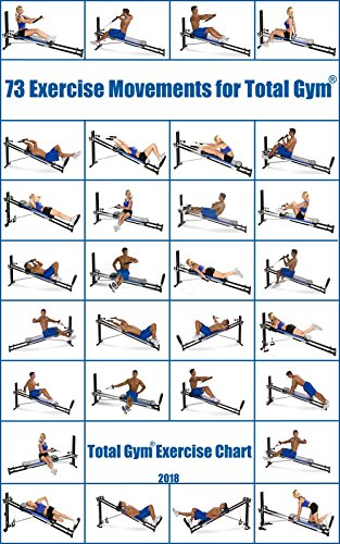 73 exercise movements for total gym total gym exercise chart ebook
