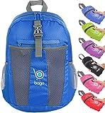 Faltbarer Rucksack für Männer Frauen Kinder Leichter Reiserucksack Tagesrucksack (Deepblue)