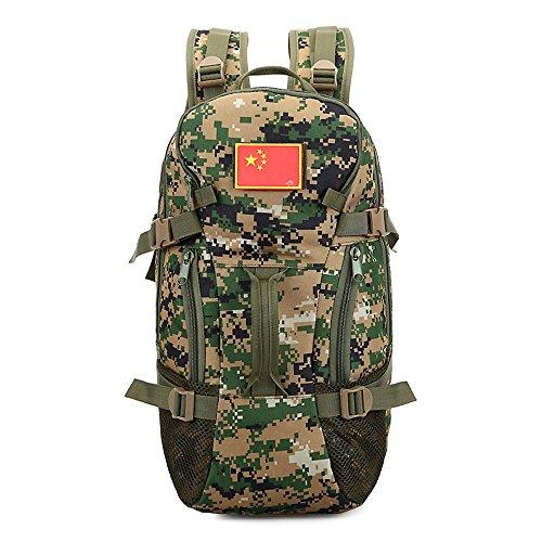 e-jiaen Rucksack 75L Hohe Kapazität Umhängetaschen/Handtasche für Speicher oder Veranstalter von Comping Wandern Reisen Mountaining Angeln Sport Zubehör C2
