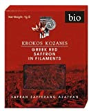 Krokos Kozanis Greek Red Saffron in Filaments 2x1g by Cooperative De Safran