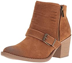 Qupid Womens Tobin-54 Boot, Camel, 5.5 M US
