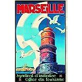 Affiche ancienne Marseille...