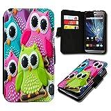 Book Style Huawei Ascend Y530 Premium PU-Leder Tasche Flip Brieftasche Handy Hülle mit Kartenfächer für Huawei Ascend Y530 - Design Flip SB463