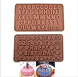 Set a 2 stampi per cioccolato, praline, paste, gelatine, ghiaccio, caramelle, candele e sapone