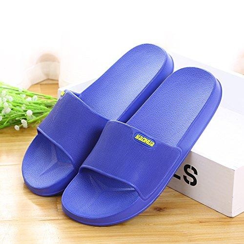 le pantofole per le scarpe, pantofole e pantofole,41 blue 42 grey