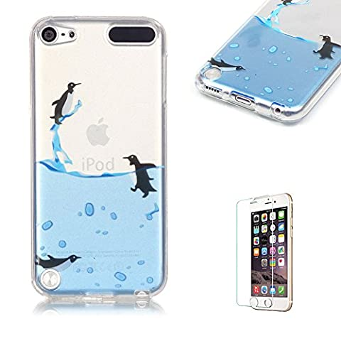 iPod Touch 5th/6th Generation Case Cover [with Free Screen Protector],