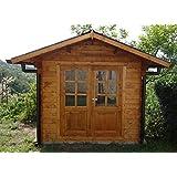 Casita de madera de jardín dekalux 2 ...