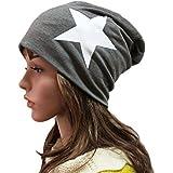 Butterme Korean Star Style Beanie Long Slouch Unisex Men Women Crochet Light Hats Hiphop Ski Sports Slouchy Baggy Beanie Caps Dark Grey
