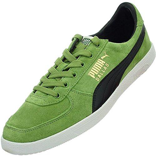 Puma Dallas, Sneaker bambini Verde verde Nero-Verde
