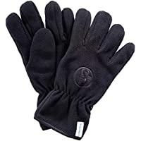 FC Schalke 04 guantes de forro polar, colour negro, Deutsche Bundesliga, 0, color Negro - negro, tamaño XXS