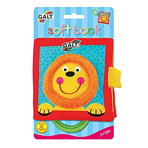 Galt Toys Inc First Years Jungle Soft Book