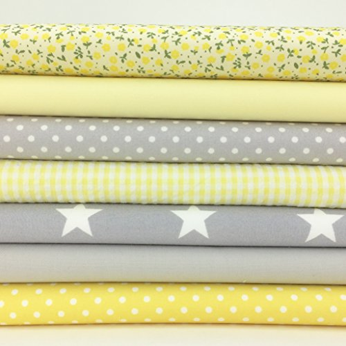 always-knitting-and-sewing-7-piece-fat-quarter-bundle-grey-lemon-baby-mix-100-cotton-poplin-fabric