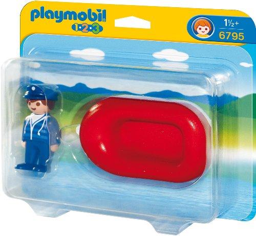 Playmobil 6795 - Mann im Schlauchboot -