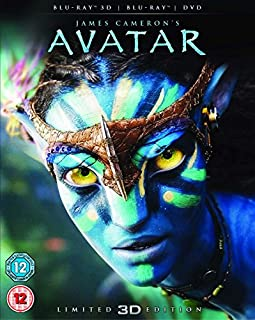 Avatar with Limited Edition Lenticular Artwork (Blu-ray 3D + Blu-ray + DVD) [2012] [Region Free] (B003R0KOUQ) | Amazon Products