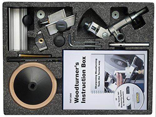 Drechseln Werkzeug Schärfen Kit Tormek tnt-708. Eine Komplette Drehmeißel Spitzer kit für Tormek Wasser gekühlt Schärfen Systeme.