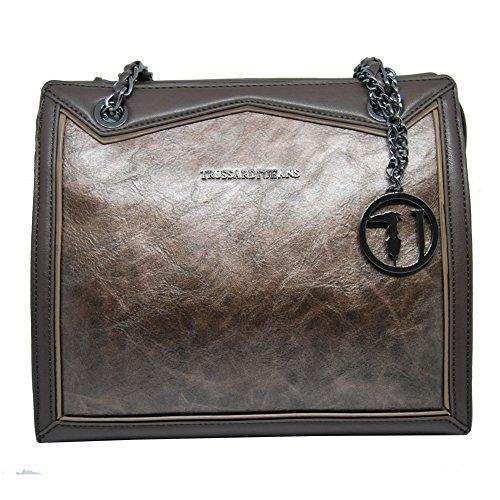 Trussardi Jeans Borsa Donna Sottospalla Media 75B652064-Bronzo