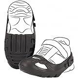 #1118 Schuhschoner mit Klettverschluß Schwarz für Schuhgröße 21-27 • Schuh Schoner Schuhschützer Größe Rutscher Bobby Car