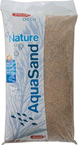 Zolux Kies Natur für Aquarium Sand-Fluss von 1bis 4mm Korngrösse–12kg