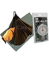 Pour pêche à la carpe Care-Set Tapis de réception et balance Sac de pesée