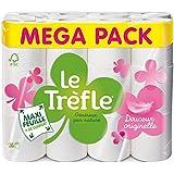 LeTrefle Papier Toilette Blanc Maxi Feuilles 24 Rouleaux