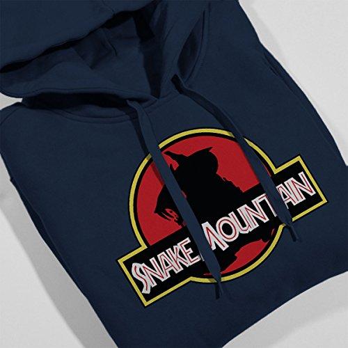 Jurassic Park Snake Mountain He Man Masters Of The Universe Women's Hooded Sweatshirt Navy Blue
