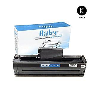 Airby® MLT-D111S Toner kompatibel für Samsung Xpress M2020, M2020W, M2022, M2022W, M2070 Drucker Schwarz - Neuster Chip
