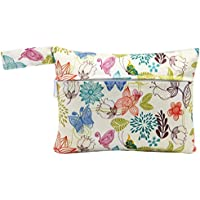 Mini Bolsa, Kapmore de Almacenamiento Reutilizable para Bolsas húmedas Mama Cloth Menstrual Pads Almohadillas Mamarias