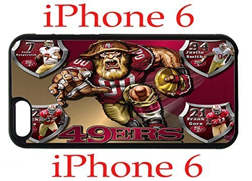 San Francisco 49ers iPhone 6 4.7 Case Hard Silicone Case