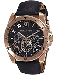 Michael Kors Brecken Analog Black Dial Men's Watch-MK8544