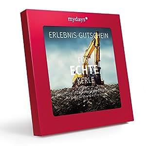 mydays GmbH Magic Box: für Echte Kerle-Erlebnisgutschein-Das Perfekte Geschenk für Männer für Ein Actionreiches Erlebnis Gutschein, Rot, One Size