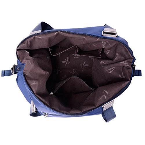 LINGE-MS Messenger borsa tela baodan spalla-lanciato massa tempo libero Oxford , rose red Blue