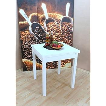 esstisch ausziehbar hugo i farbe wei k che haushalt. Black Bedroom Furniture Sets. Home Design Ideas