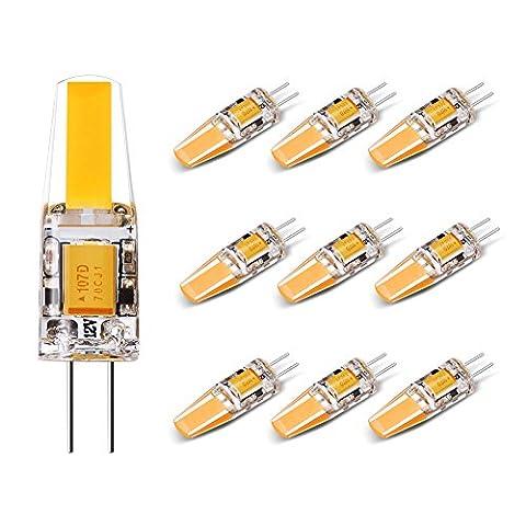 Ampoules G4 LED 1.8W AC /DC 12V,Equivalent à Lampe Halogène