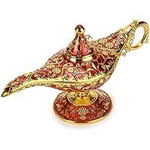 BTSKY - Lámpara de Aladín Mágica de Lujo con Caja Lámpara de Aladín Mágica, Decoración