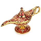 BTSKY - Lámpara de Aladín Mágica de Lujo con Caja Lámpara de Aladín Mágica, Decoración...