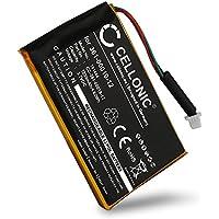 CELLONIC Batería premium para Garmin Edge 605 Garmin Edge 705 (1250mAh) 361-00019-12 bateria de repuesto, pila reemplazo, sustitución