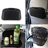 Raiphy Auto-Klapptisch Tablett mit Flaschenhalterung Auto Rücksitz Veranstalter Reise Aktivität Essen Tablett Ausklappbarer Tisch-1