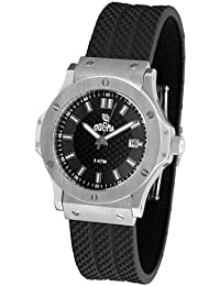 Dogma G7020 - Reloj Señora Movimiento Quarzo Correa Caucho Negro