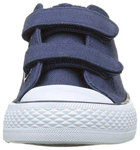 Levi's Trucker Low Velcro, Baskets Basses Garçon Bleu (Navy)